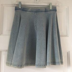 NWT Topshop blue skater skirt